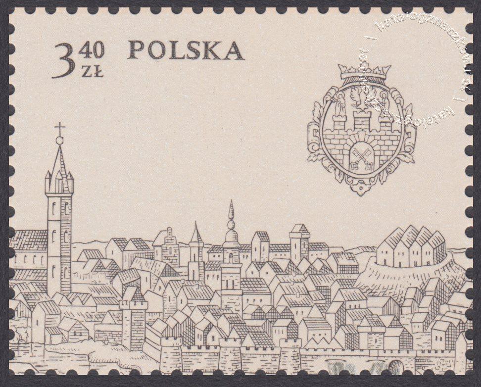 750-lecie lokacji Poznania znaczek nr 3898