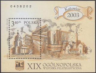 XIX Ogólnopolska wystawa filatelistyczna Katowice 2003 - Blok 136B