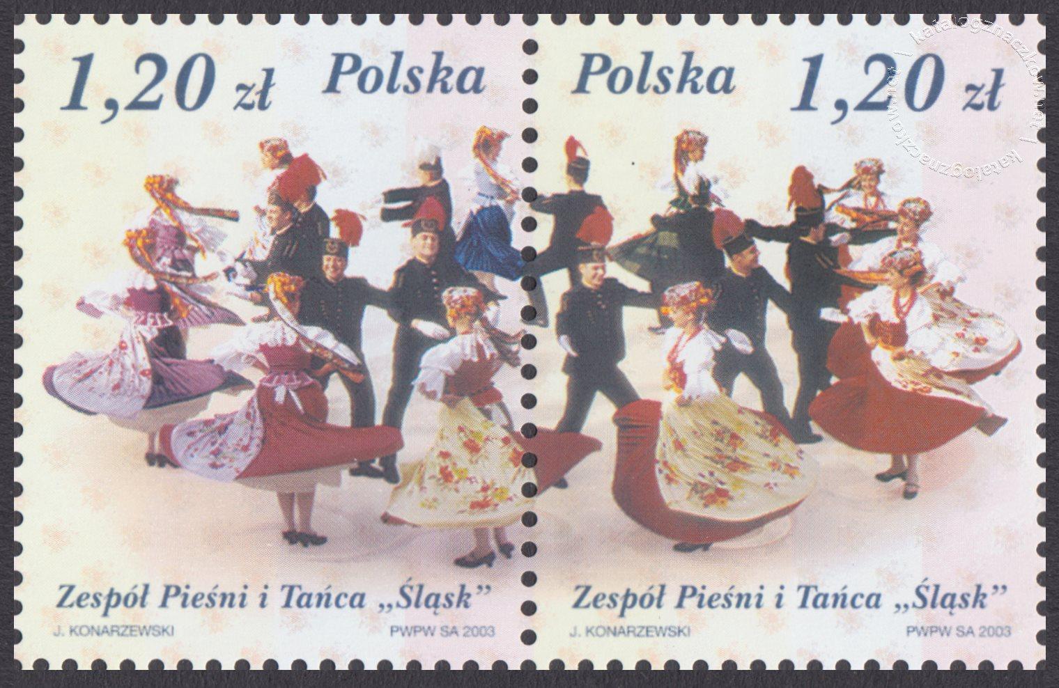 50 lecie zespołu pieśni i tańca Śląsk ark. 3926-3927
