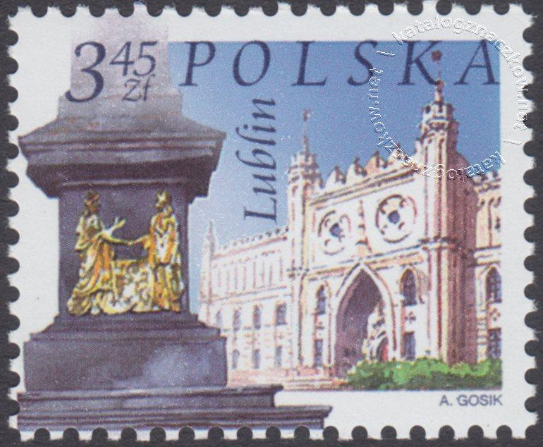 Miasta polskie znaczek nr 3946