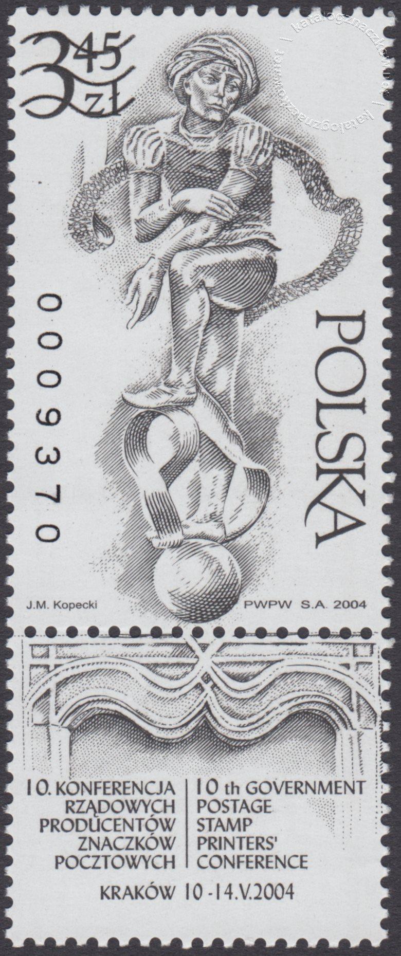 10 Konferencja rządowych producentów znaczków pocztowych – 3957ND