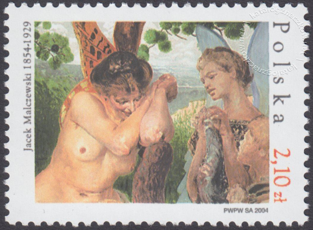 150 rocznica urodzin Jacka Malczewskiego znaczek nr 3973
