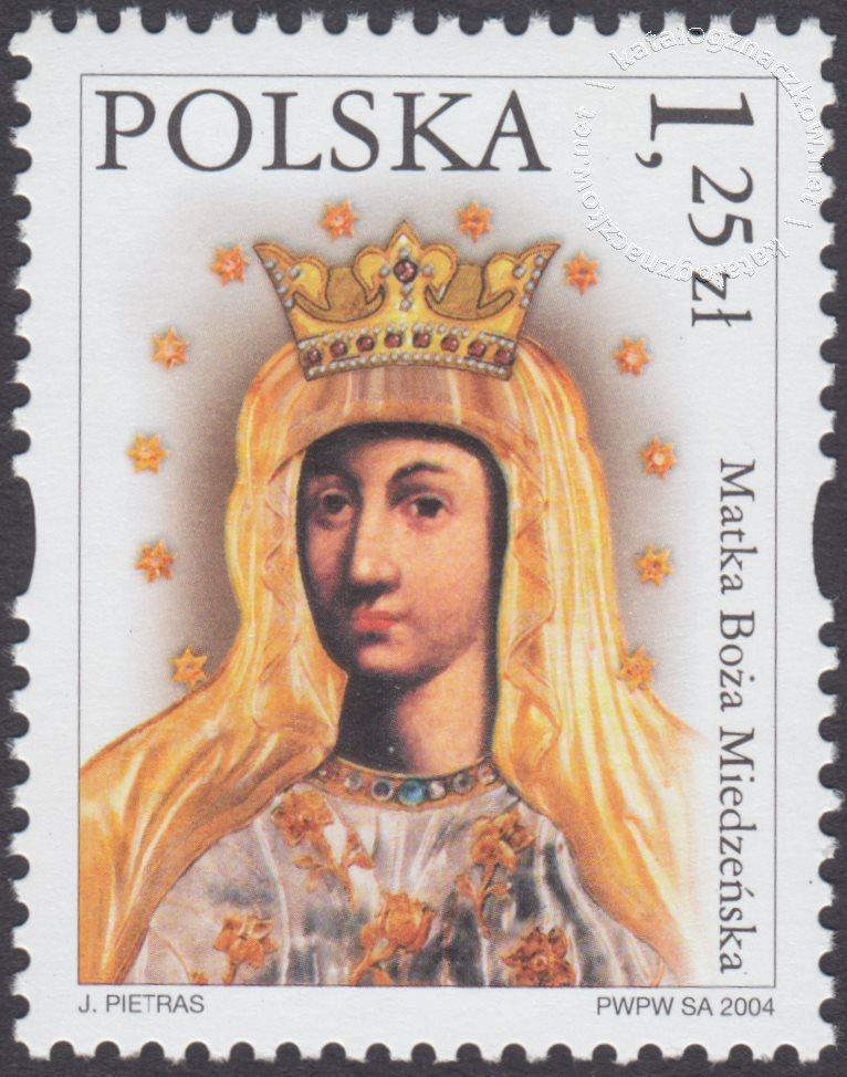Sanktuaria Maryjne znaczek nr 3981