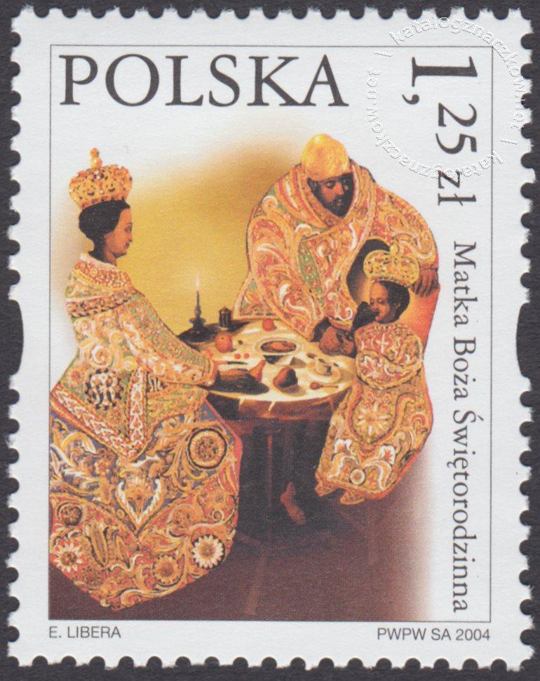 Sanktuaria Maryjne znaczek nr 3982