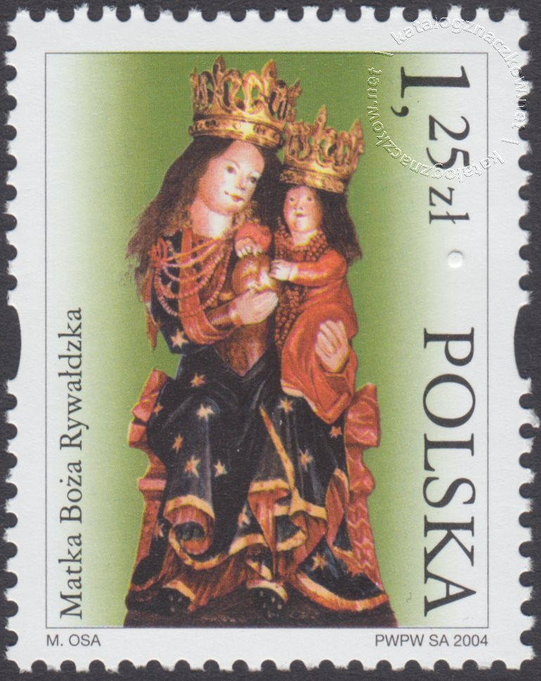 Sanktuaria Maryjne znaczek nr 3984