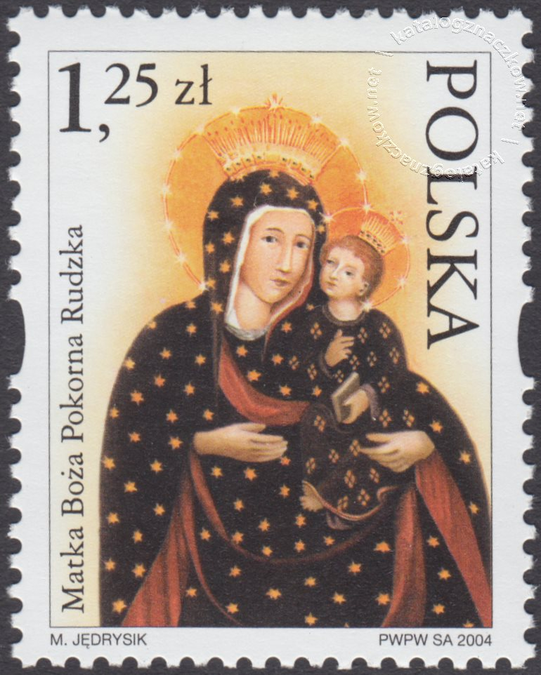 Sanktuaria Maryjne znaczek nr 3985