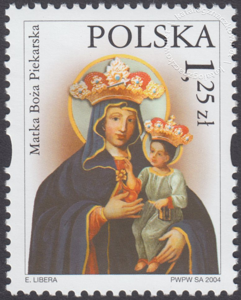 Sanktuaria Maryjne znaczek nr 3986