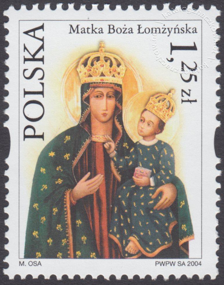 Sanktuaria Maryjne znaczek nr 3987