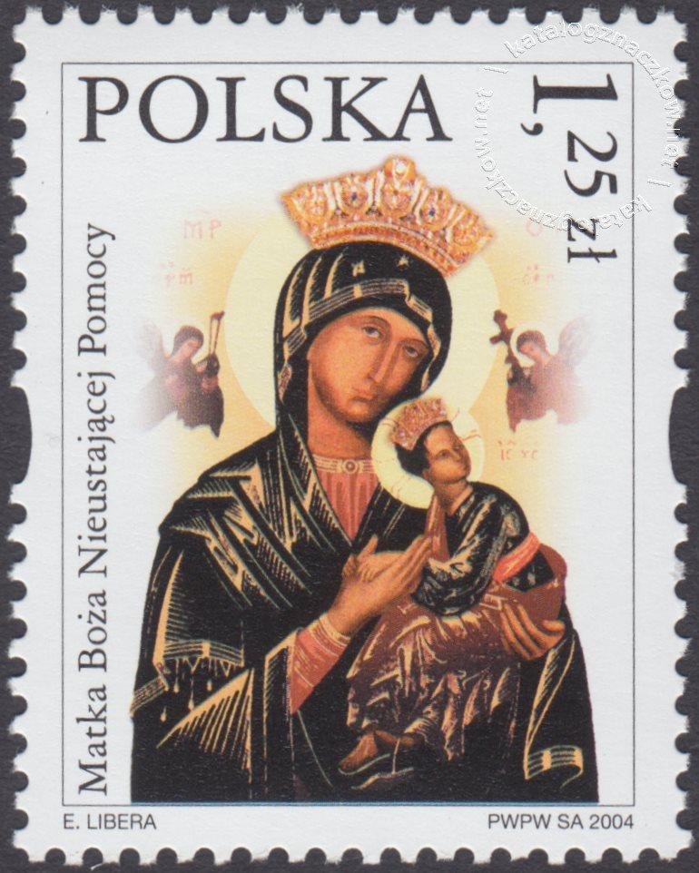 Sanktuaria Maryjne znaczek nr 3988