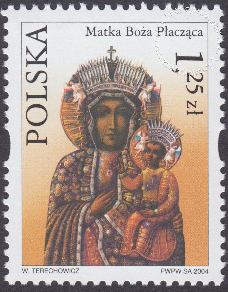 Sanktuaria Maryjne znaczek nr 3990