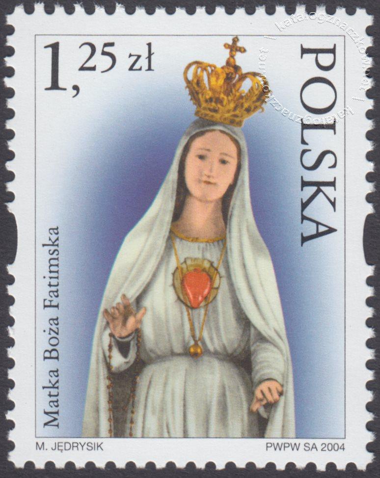 Sanktuaria Maryjne znaczek nr 3994
