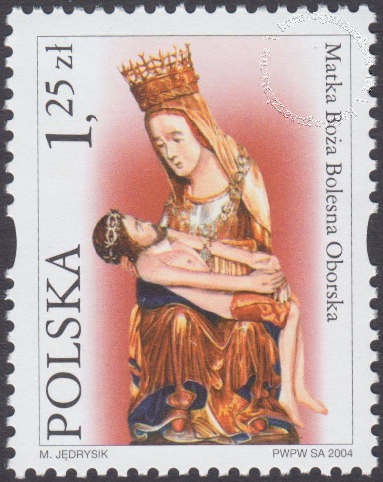 Sanktuaria Maryjne znaczek nr 3996
