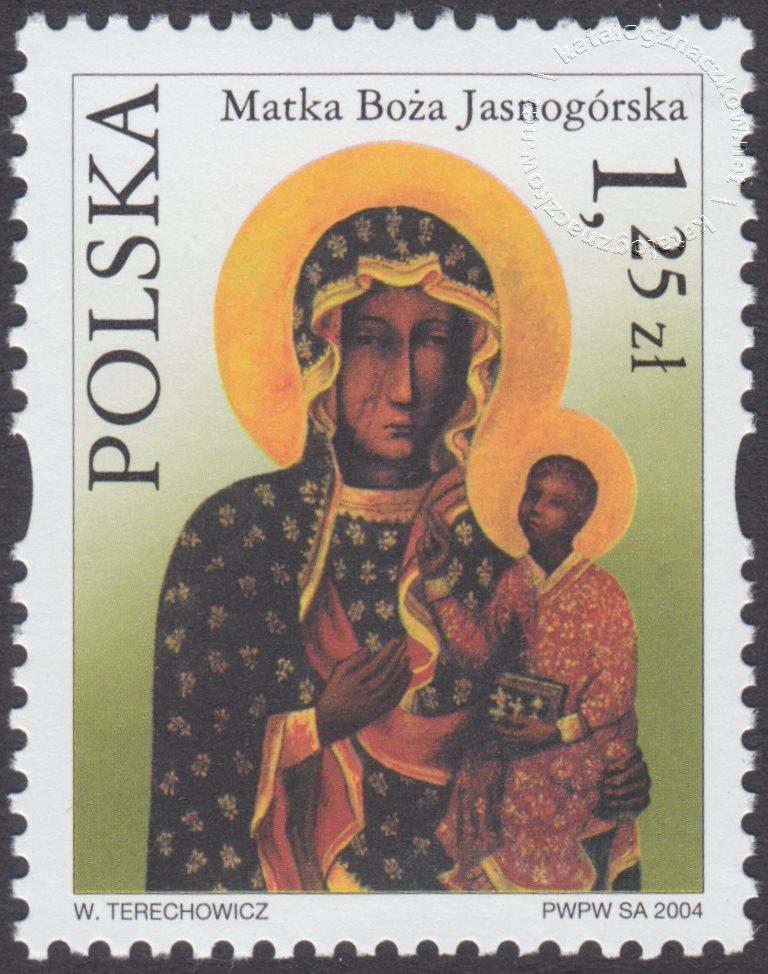 Sanktuaria Maryjne znaczek nr 3997