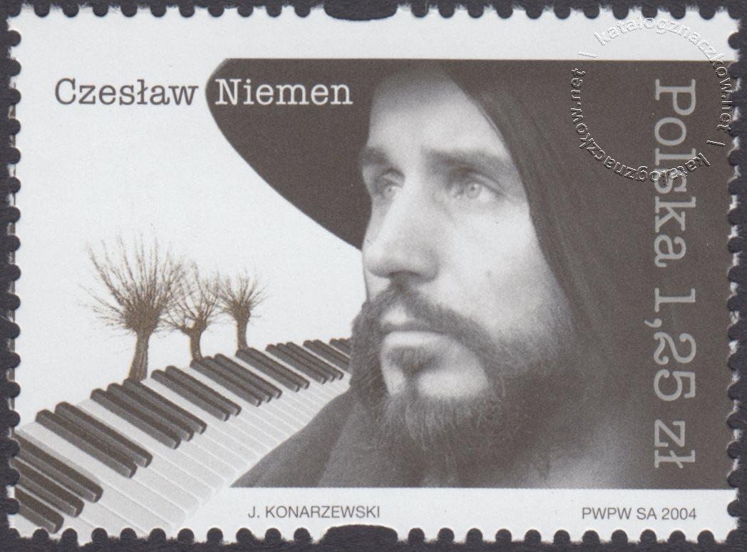 Pamięci Czesława Niemena znaczek nr 3998