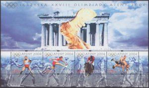 Igrzyska XXVIII Olimpiady Ateny 2004 ark. 3976-3979