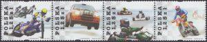 Sporty motorowe znaczki nr 4000-4003