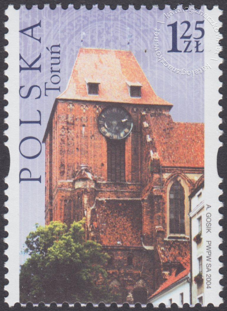 Dziedzictwo kulturowe świata – Polska znaczek nr 4005