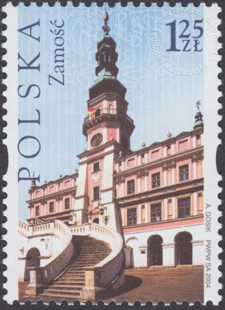 Dziedzictwo kulturowe świata – Polska znaczek nr 4007