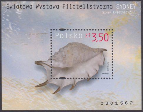 Światowa Wystawa Filatelistyczna Sydney 2005 - Blok 138B