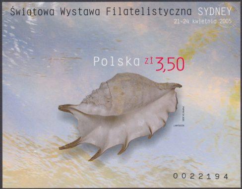 Światowa Wystawa Filatelistyczna Sydney 2005 - Blok 138A