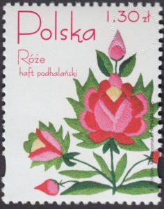 Róże w hafcie polskim - 4045