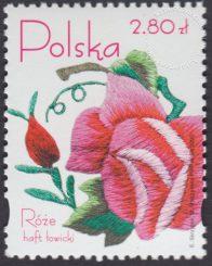 Róże w hafcie polskim - 4048
