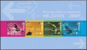 Mistrzostwa Świata w Lekkoatletyce Helsinki 2005 ark. 4050-4053