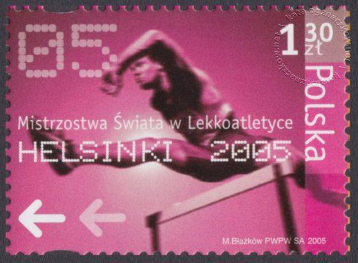 Mistrzostwa Świata w Lekkoatletyce Helsinki 2005 - 4050