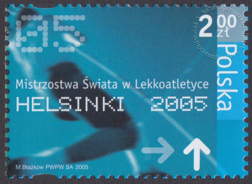 Mistrzostwa Świata w Lekkoatletyce Helsinki 2005 znaczek nr 4053
