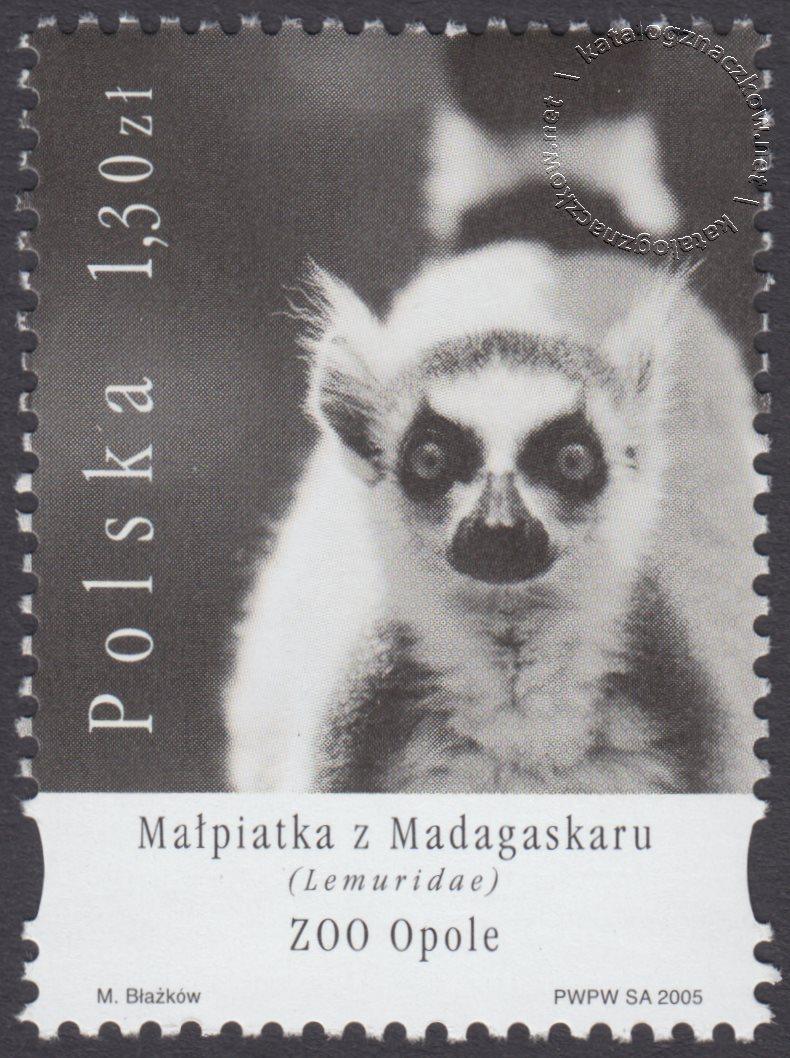 Polskie ogrody zoologiczne znaczek nr 4058