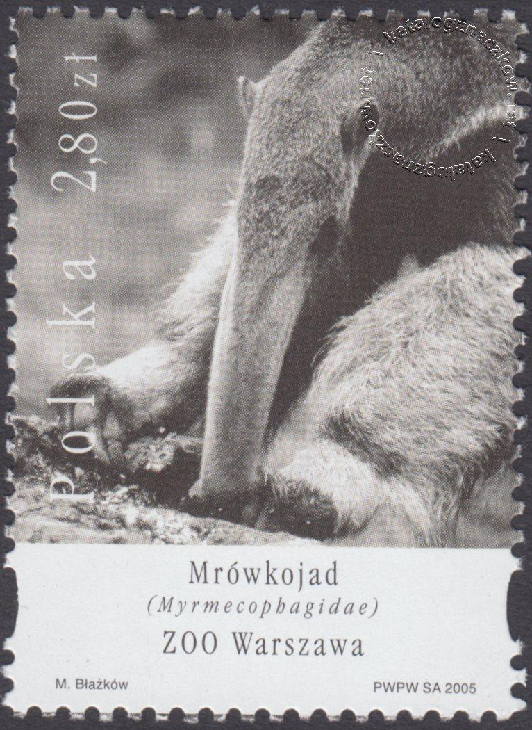 Polskie ogrody zoologiczne znaczek nr 4061
