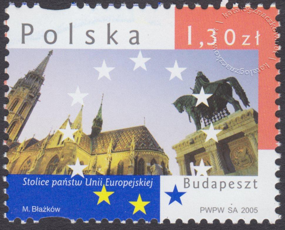 Stolice państw Unii Europejskiej znaczek nr 4065