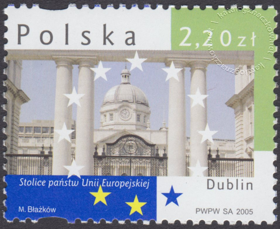Stolice państw Unii Europejskiej znaczek nr 4067