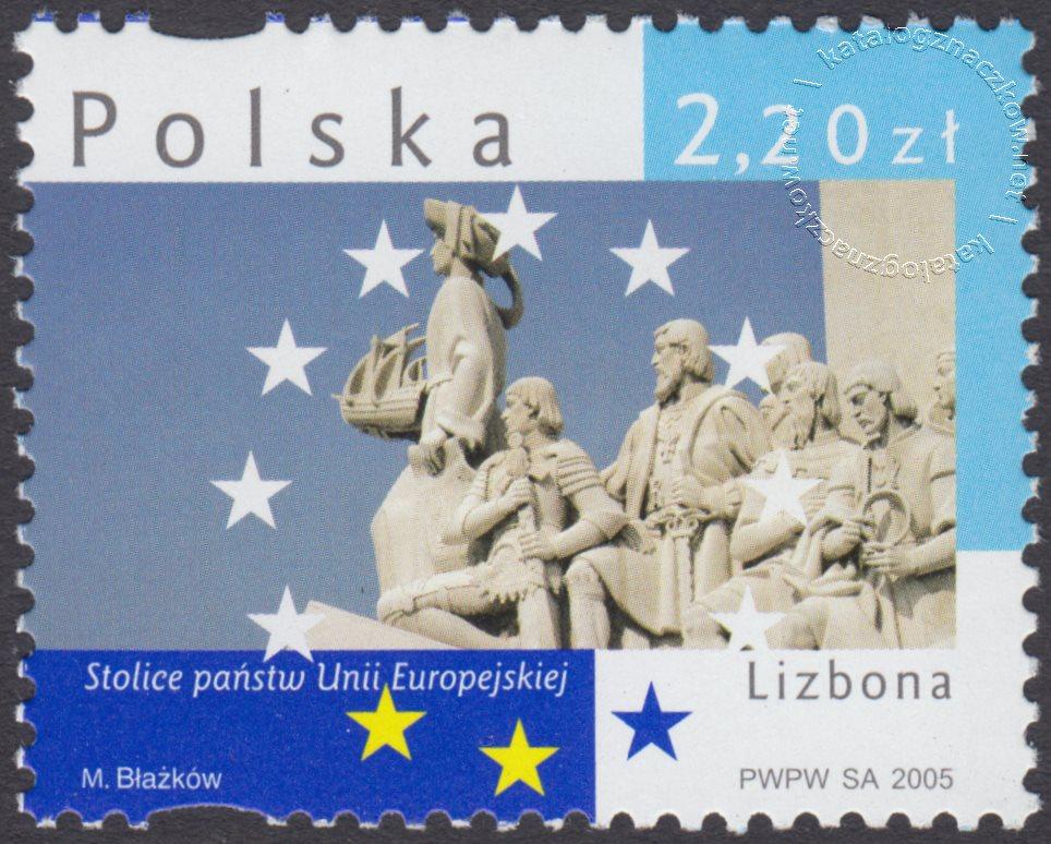 Stolice państw Unii Europejskiej znaczek nr 4068