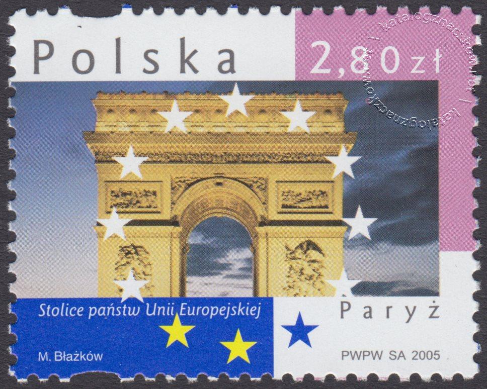 Stolice państw Unii Europejskiej znaczek nr 4069