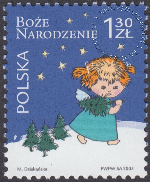 Boże Narodzenie znaczek nr 4075