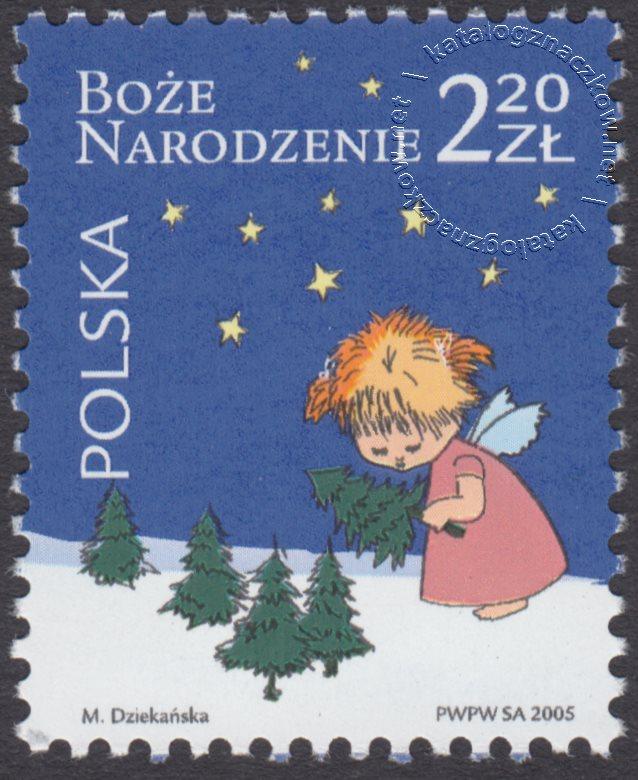 Boże Narodzenie znaczek nr 4076