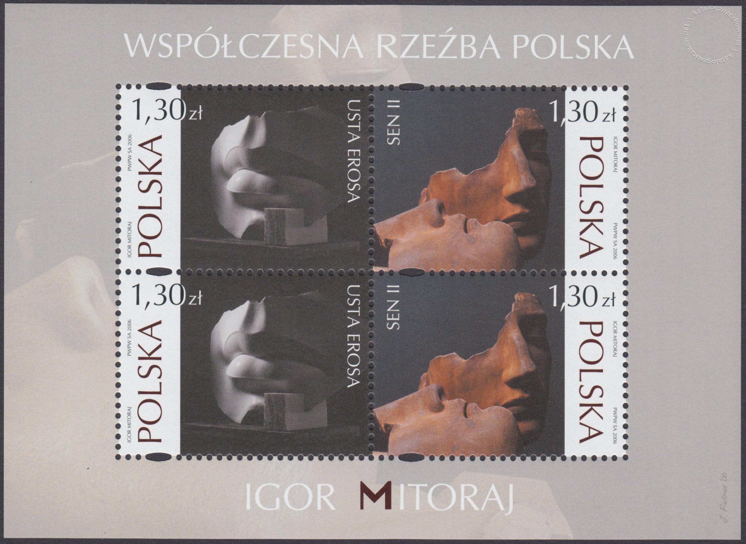 Współczesna rzeźba polska – Igor Mitoraj ark. 4084-4085