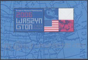 Światowa Wystawa Filatelistyczna. Waszyngton 2006 - Blok 141