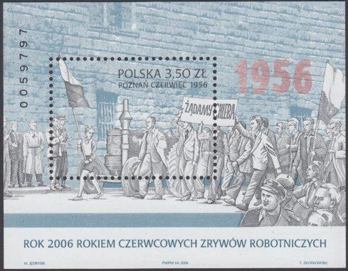 Rok 2006 rokiem Czerwcowych Zrywów Robotniczych - Blok 142