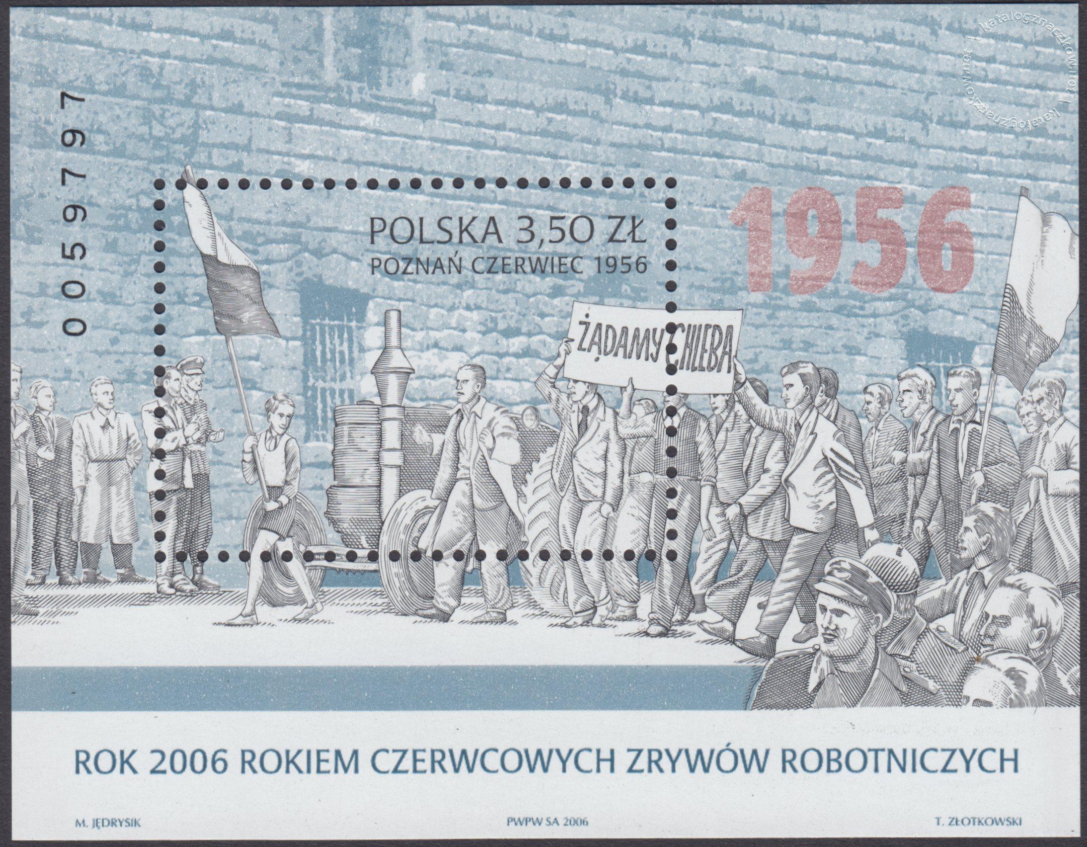 Rok 2006 rokiem Czerwcowych Zrywów Robotniczych – Blok 142