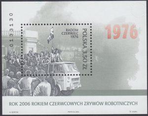 Rok 2006 rokiem Czerwcowych Zrywów Robotniczych - Blok 143