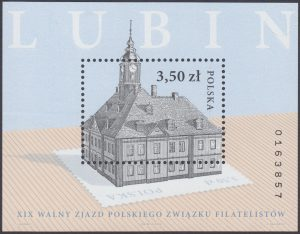 XIX Walny Zjazd Polskiego Związku Filatelistów - Blok 144B