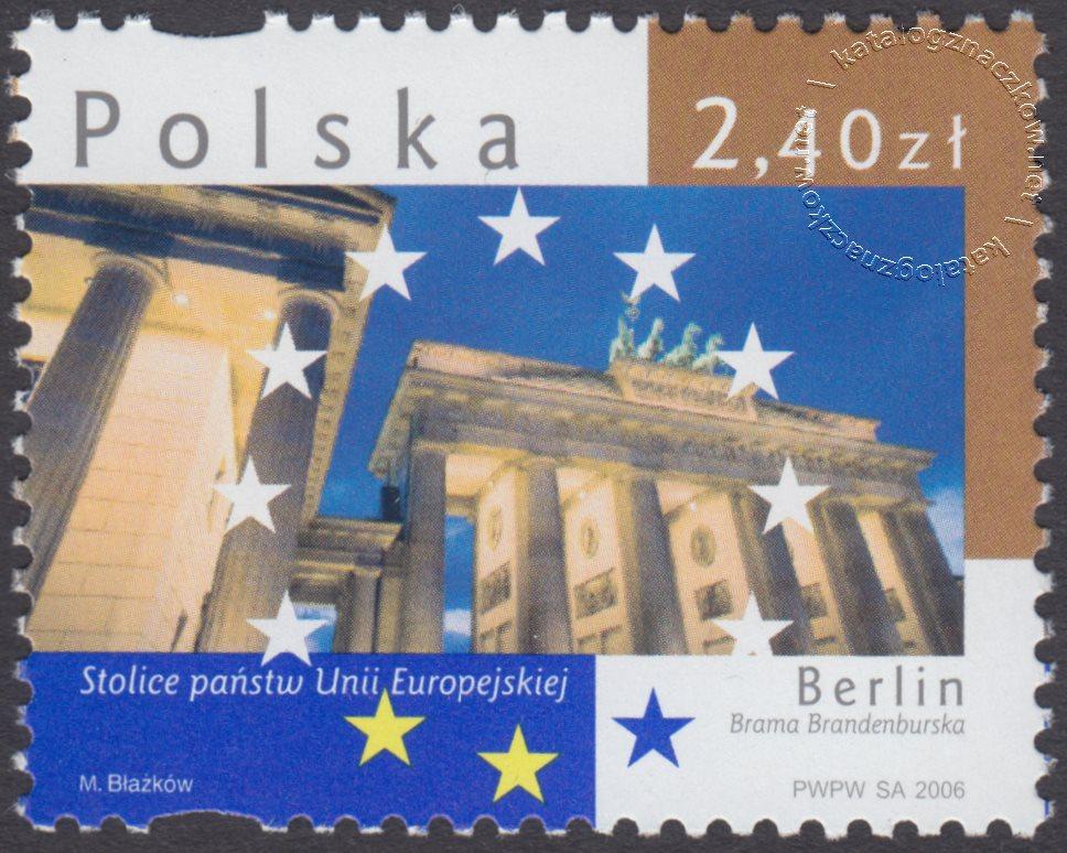 Stolice Państw Unii Europejskiej znaczek nr 4121