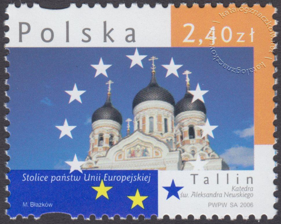 Stolice Państw Unii Europejskiej znaczek nr 4124