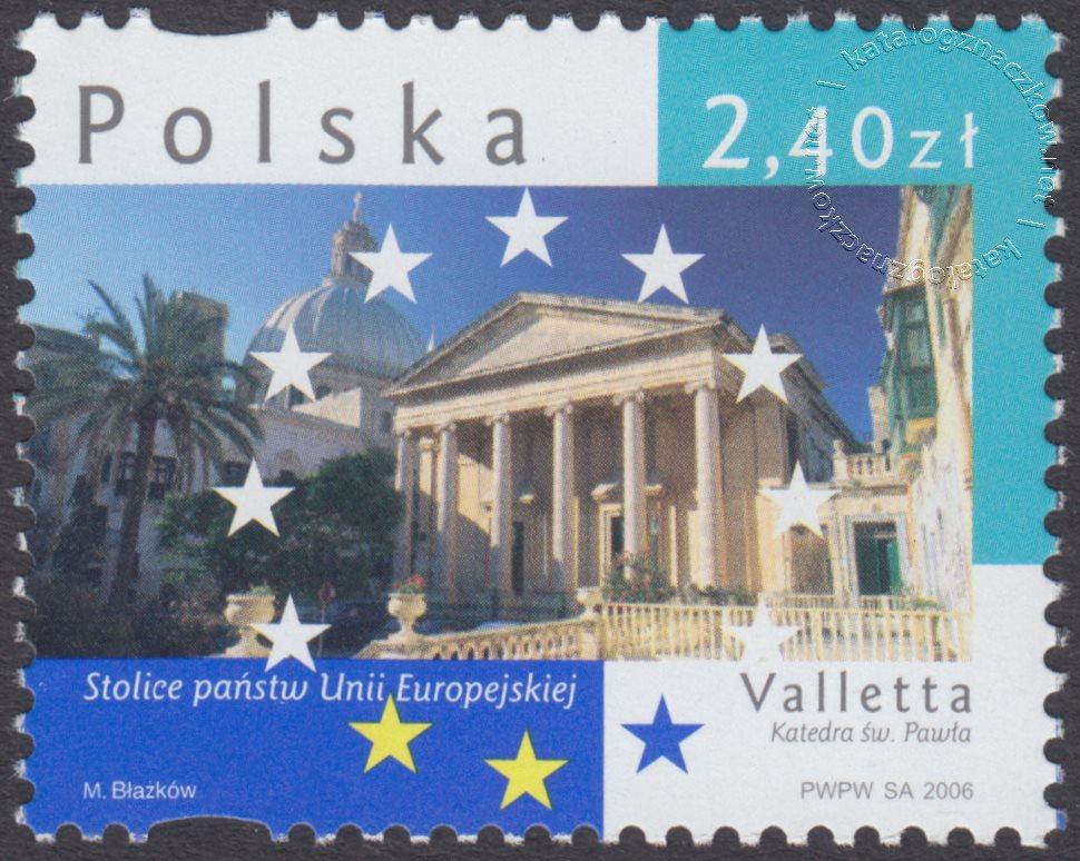 Stolice Państw Unii Europejskiej znaczek nr 4125