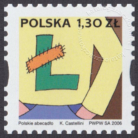 Polskie Abecadło znaczek nr 4131