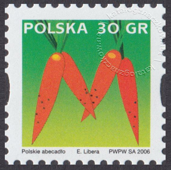 Polskie Abecadło znaczek nr 4132