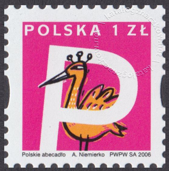 Polskie Abecadło znaczek nr 4135
