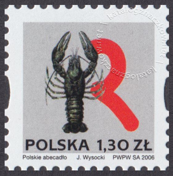 Polskie Abecadło znaczek nr 4136
